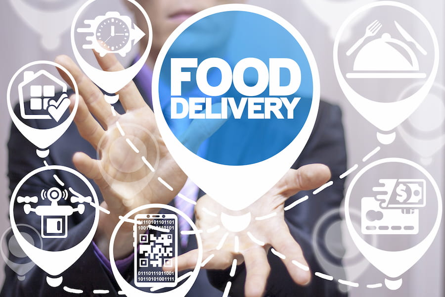 Food Delivery su Facebook e Instagram